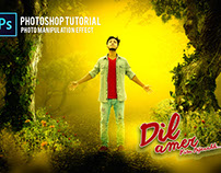 Photoshop Tutorials | Photo Manipulation with Light Eff