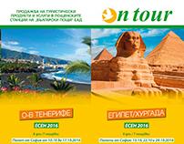2016, OnTour Booklets