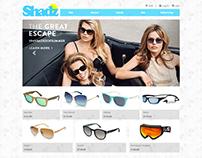 Shopping site user experience design progress