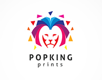 Colorful Lion Logo