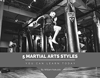 5 Martial Arts Styles You Can Learn Today