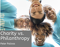 Charity vs Philanthropy