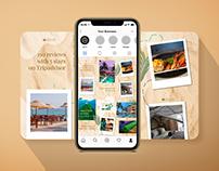 Sapphire Seas Hotel Instagram Puzzle Grid