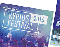 Identidade visual: Kyrios Festival 2014.