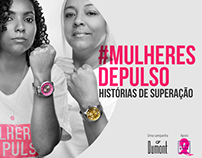 #Mulheres de Pulso -Campanha Dumont