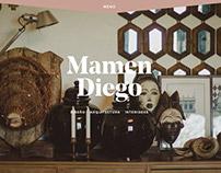 Design and development - mamendiego.com