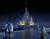 Star Wars - Disney Castle Concept
