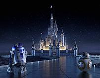 Star Wars - Disney Castle Concept