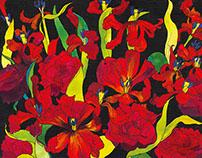 Tulips & Roses Illustration