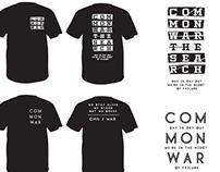 Common War Merch Designs