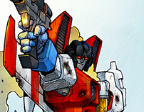 """STARSCREAM"" - Transformers Fan Art and more... 2015"
