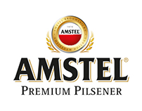 Amstel beer booklet (folded)