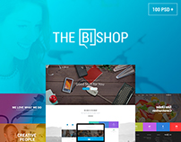 The Bishop - Multi-Purpose PSD Template