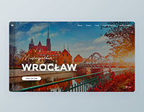 Wrocław - concept of a website for tourists