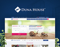Duna House website redesign