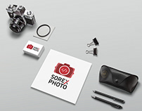 Sorex Photo · Photographer Brand & Corporate identity