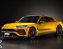 Lamborghini Estoque S & CrossTurismo EV 2024