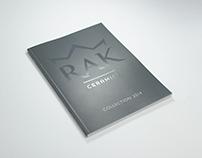 Kataloge 2010 bis 2015 RAK Ceramics