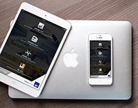 iPhone+iPad News App Design