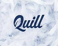 Quill logo design