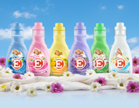 Packshots • E, laundry detergent