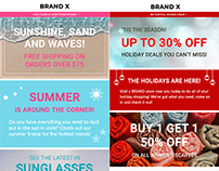 OneMarket Generic Responsive Email Templates