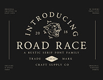 Road Race - Font Family (Free Download)