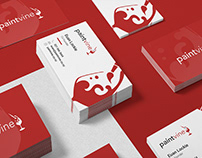 Paintvine Business Card Design