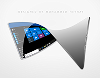 Flexible Windows 10 Tablet 3D