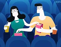 The Dating - Illustration