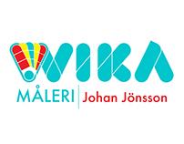 Wika Måleri Logotyp