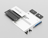 Free US stationary mockup