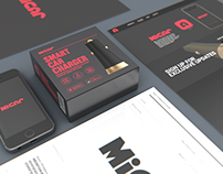 MiCar - Branding, Packaging, Product Design, Ui Design