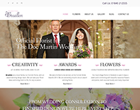 Bruallen Florist - Web design & development