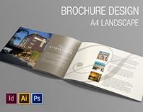 Brochure Design || A4 Landscape