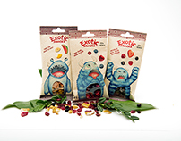Exotic Snacks - kids selection.