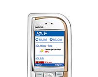 Creation of AOL portal on mobile