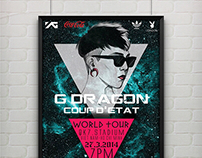 [POSTER] G DRAGON WORLD TOUR