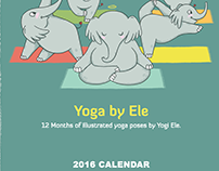 Yoga by Ele - 2016 Calendar Design