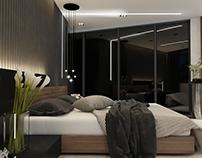Bedroom / black style