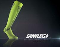 Sanyleg - 20.000 compression socks [stop motion]