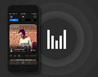 MuzApp. iOS App