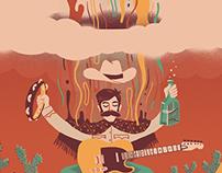 Manta Rays / Sun Seeker Poster