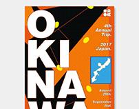 OKINAWA trip poster