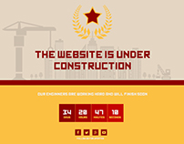 SOVIET - Page Under Construction Template