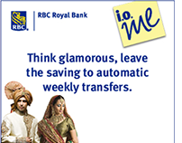 RBC - eSavings web banners
