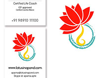 Brand identity design for a life coach
