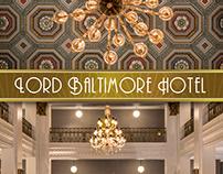 Lord Baltimore Hotel Marketing Materials