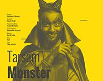 Designing postertarsam monster