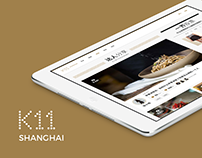 K11 Shanghai Website Revamp